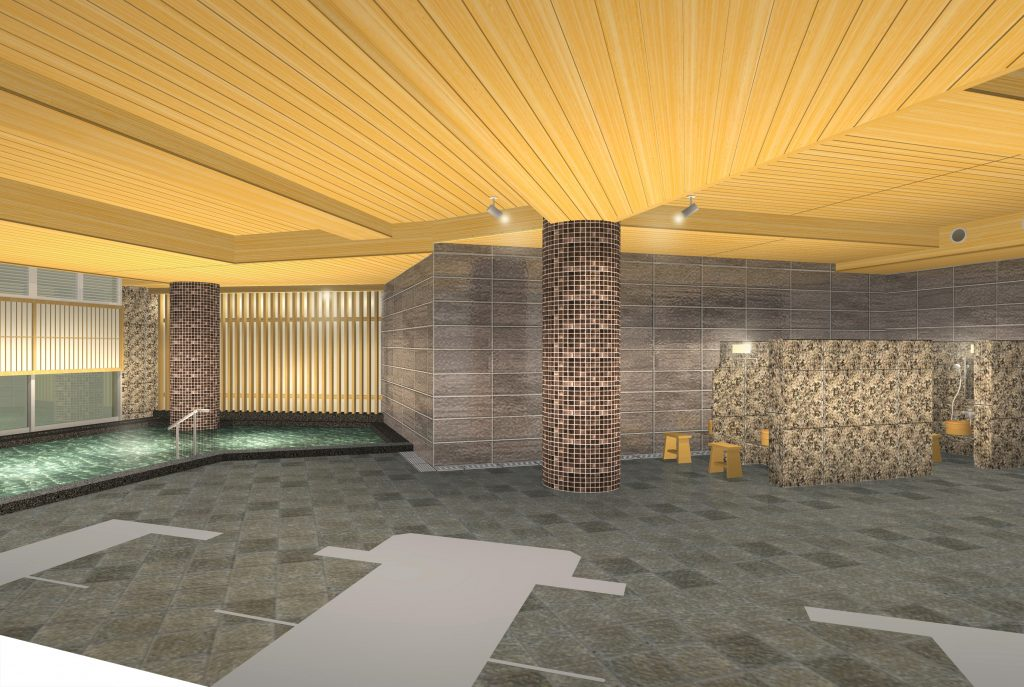 大浴場リニューアル(イメージ)